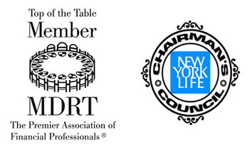 MDRT Logo and NYL Chairman's council logo